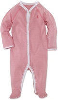 Ralph Lauren Coverall, Baby Girls Striped Coverall