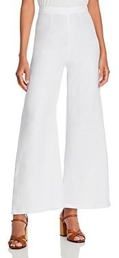 Faithfull The Brand Sibyl Flared Linen Pants
