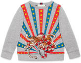 Gucci Children's sweatshirt with appliqués