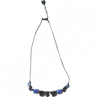 Les Nereides Pink Metal Necklaces