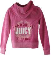 Juicy Couture Girls Glamorous Monogram. T-shirt or Hoodie. (Medium (6-7), )
