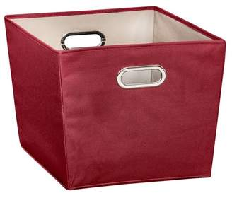 Honey-Can-Do Red Large Storage Bin