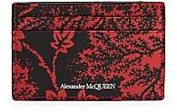 Alexander McQueen Men's Leather Card Holder