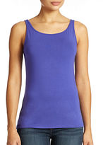 Lord & Taylor Plus Iconic Fit Slimming Tank Top
