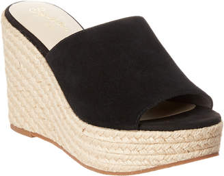 Seychelles Ride The Wave Suede Wedge Sandal