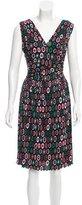 M Missoni Printed Pleated Dress