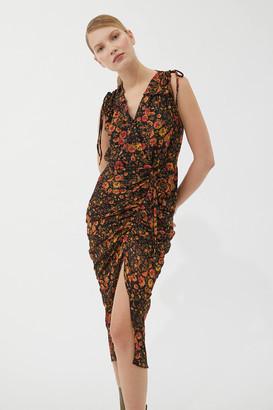 Dress Forum Ruched Midi Dress