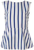 Sofie D'hoore Benedict striped peplum top