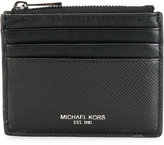 Michael Kors logo print cardholder - men - Leather - One Size
