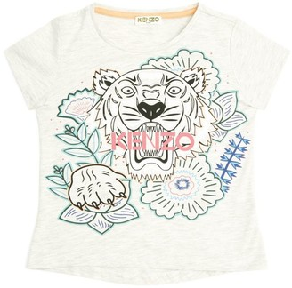 Kenzo Flower Icon Tiger T-Shirt (2-14 years)