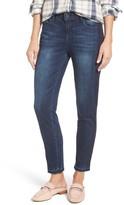 Wit & Wisdom Women's Tuxedo Stripe Skinny Jeans