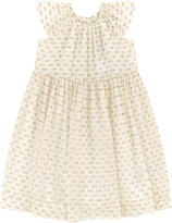 Burberry Dotted silk dress