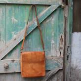 Nkuku Savannah Leather Messenger Bag