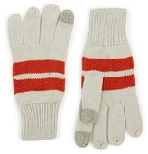 Topman Men's Stripe Tech Gloves