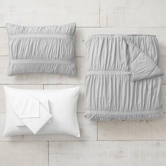 Pottery Barn Teen Pucker Up Recycled Microfiber Comforter Bundle Set