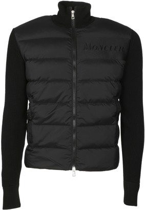 Moncler Ribbed Padded Cardigan