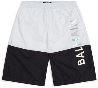 Balmain Kids Logo Swim Shorts (8-16 years)