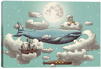 by Terry icanvasart Icanvas Ocean Meets Sky t2 Fan
