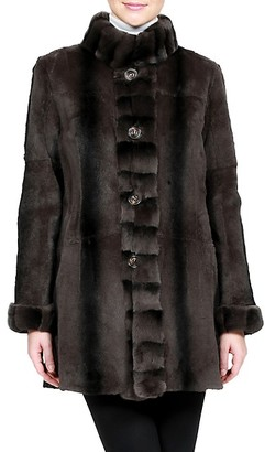 Belle Fare Reversible Rabbit Fur Coat