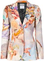 Moschino Fresco print blazer - women - Viscose/Wool - 42
