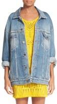Roberto Cavalli Star Back Denim Jacket