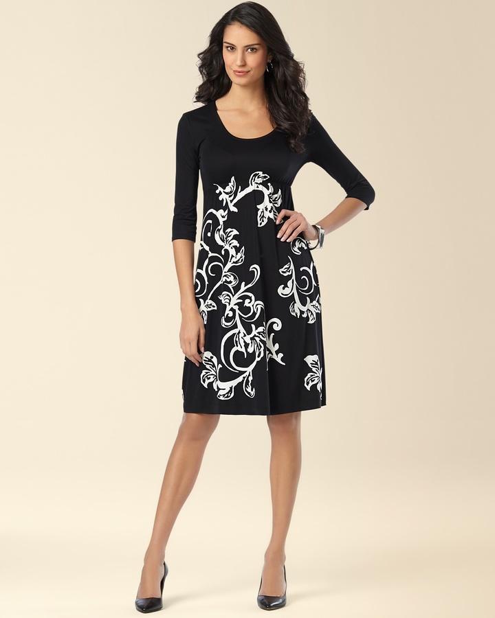 Soma Intimates Tatum Dress Song Scroll