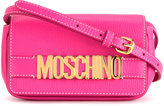 Moschino branded shoulder bag - women - Calf Leather - One Size