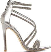 Steve Madden Sweetest embellished heeled sandals