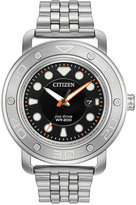 Citizen Men's Eco-Drive Stainless Steel Bracelet & Interchangeable Strap Watch 46mm AW1530-65E