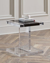 Interlude Waldo Acrylic Side Table