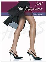 Hanes Silky Sheer Reinforced Toe Pantyhose