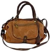 Gryson Brown & Tan Leather Shoulder Bag