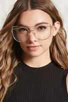 Forever 21 Cutout Cat Eye Reader Glasses