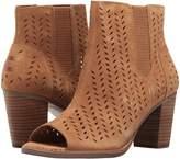 Toms Majorca Peep Toe Bootie Women's Toe Open Shoes