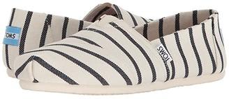 Toms Seasonal Classics (Morning Dove Heritage Canvas) Women's Slip on Shoes