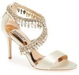 Badgley Mischka Women's Crystal-Embellished Sandal