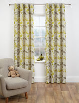 Marks and Spencer Leaf Jacquard Eyelet Curtain