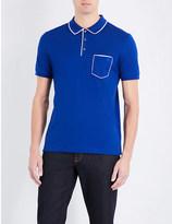 Salvatore Ferragamo Cotton-piqué polo shirt