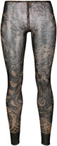 DSQUARED2 printed leggings - women - Polyamide/Spandex/Elastane - L