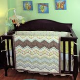 Nurture Zigzag 4-pc. Crib Bedding Set