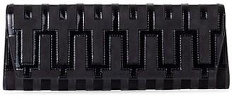 Akris Anouk Mosaique Applique Leather Clutch