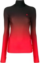Kwaidan Editions jersey roll-neck jumper