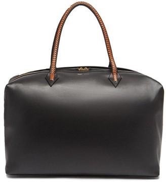 Métier London Metier London - Perriand Large Leather Weekend Bag - Womens - Black Multi