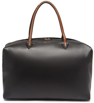 Métier Metier - Perriand Large Leather Weekend Bag - Black Multi