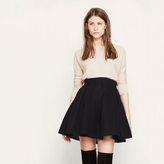 Maje Short skirt in basketweave knit