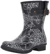 Chooka Women's Mid-Height Memory Foam Rain Boot,8 M US