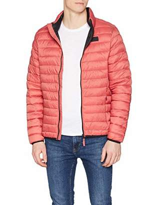 BLEND Men's Outerwear Jacket, (Mineral Red 73817), S