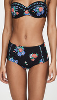Tory Burch Printed High Waisted Bottoms