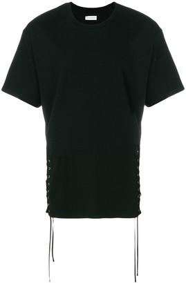 Faith Connexion side-tied T-shirt