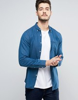 Jack Wills Faulkner Chambray Shirt In Regular Fit